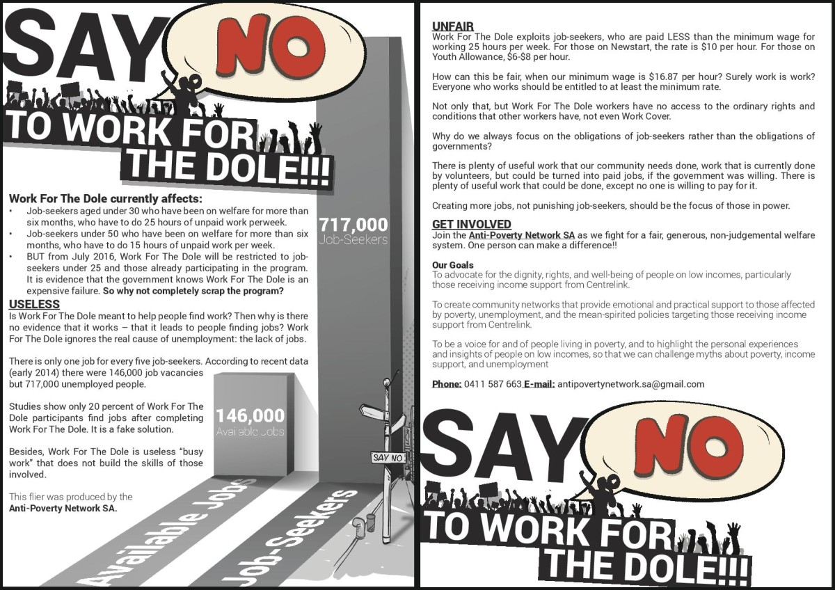 Work For The Dole